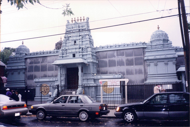 Hindu Temple in Flushing, NY